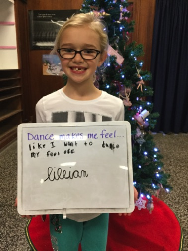 """...like I want to dance my feet off."" -Lillian"