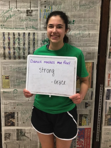 """...strong."" -Grace"